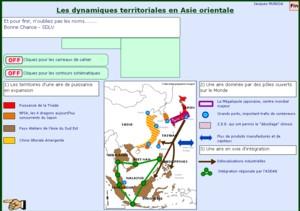 Dynamiques territoriales en Asie orientale