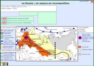 La Russie un espace en recomposition