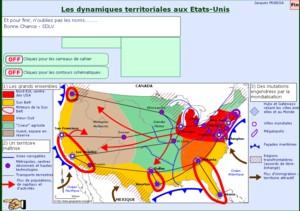 Les dynamiques territoriales aux Etats Unis