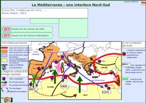 Mediterranee une interface Nord Sud