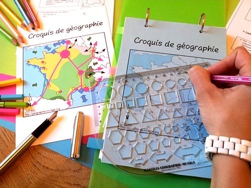 Le NORMOGRAPHE pour vos croquis et schémas de géographie