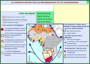 Carte Afrique Bac.Tous Les Croquis Pour Les Classes De Terminales