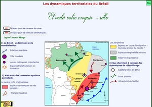 Carte Geo Bac S Bresil.Tous Les Croquis Pour Les Classes De Terminales